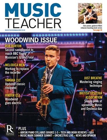 Music Teacher issue August 2018