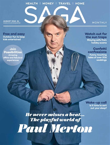 Saga Magazine issue August 2018