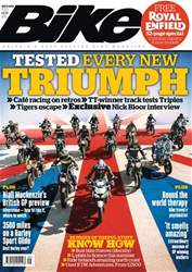 Bike Magazine Cover
