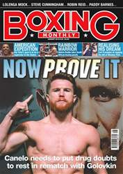 Boxing Monthly issue August 2018