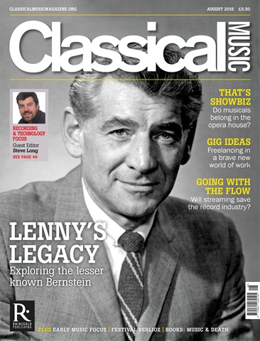 Classical Music issue August 2018