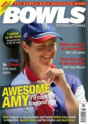 Bowls International issue   August 2018