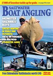 Saltwater Boat Angling issue Aug-18
