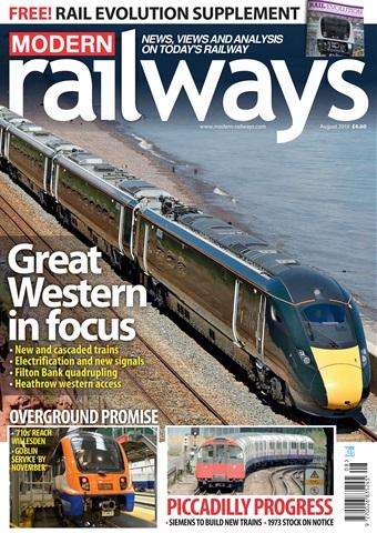 Modern Railways issue   August 2018