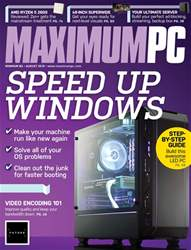 Maximum PC issue August 2018