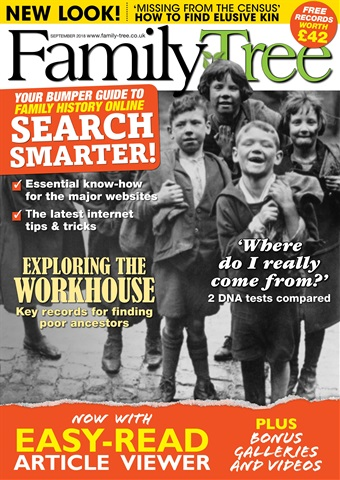 Family Tree issue Family Tree September 2018