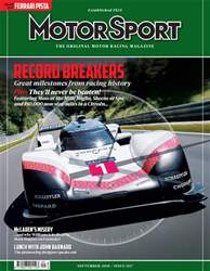 Motor Sport Magazine issue Sep-18