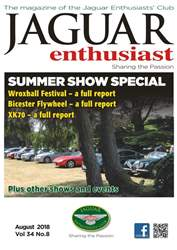 Jaguar Enthusiast issue August 18