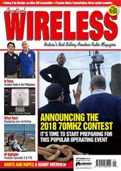 Practical Wireless issue September 2018