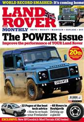 Land Rover Monthly issue September 2018