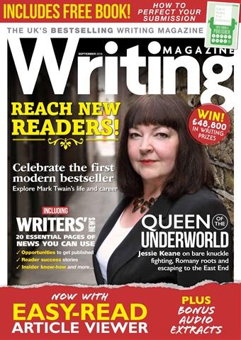 Writing Magazine issue September 2018