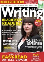 Writing Magazine issue September 2018