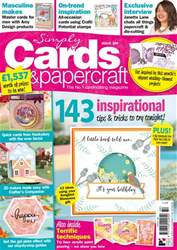 Simply Cards & Papercraft issue Issue 180