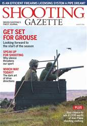 Shooting Gazette issue August 2018