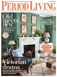 Period Living Magazine issue September 2018