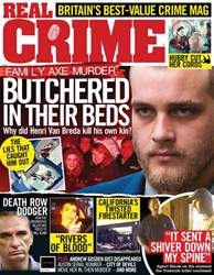 Real Crime Magazine Cover