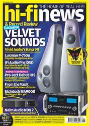 Hi-Fi News issue Sep-18
