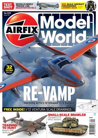 Airfix Model World issue   September 2018