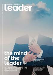 Positive & Mindful Leader Magazine Cover