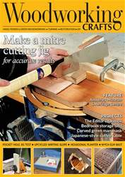 Woodworking Crafts Magazine issue September 2018
