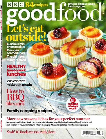 BBC Good Food issue August 2018