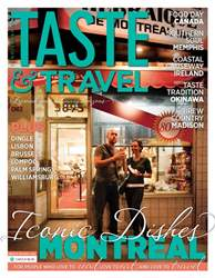 Taste & Travel International issue July 2018