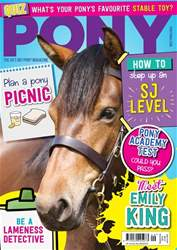 PONY magazine – September 2018 issue PONY magazine – September 2018