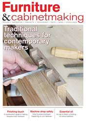 Furniture & Cabinetmaking issue September 2018