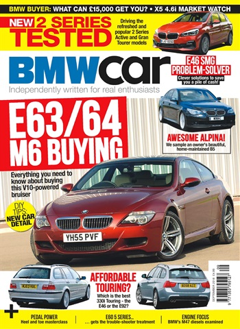 BMW Car issue September 2018