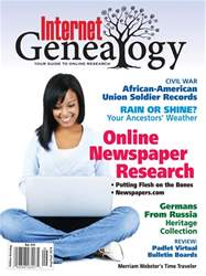 Internet Genealogy issue AugSep2018