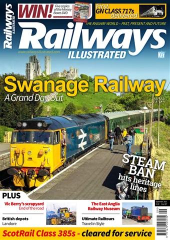Railways Illustrated issue   September 2018