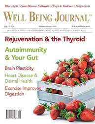 Well Being Journal issue Vol. 27, No. 5, September/October 2018
