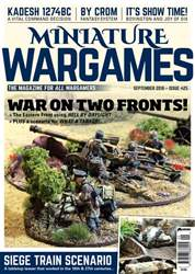 Miniature Wargames issue September 2018 (425)