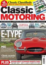 Classic Motoring issue Sep-18