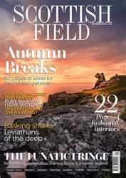 Scottish Field issue September 2018