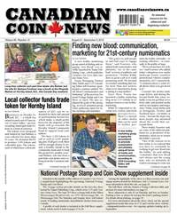Canadian Coin News issue V56#10 - August 21