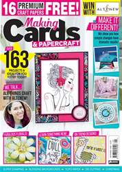 Making Cards & Papercraft issue September 2018