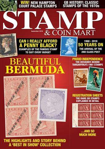 Stamp & Coin Mart issue September 2018