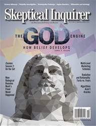 Skeptical Inquirer issue Sept/Oct 2018