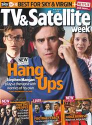 TV & Satellite Week Magazine Cover