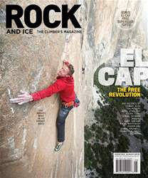 Rock and Ice issue August 2018