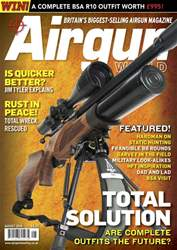 Airgun World issue AUG 18