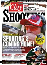 Clay Shooting issue August 2018