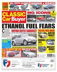 Classic Car Buyer Magazine Cover