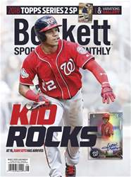 Sports Card Monthly issue August 2018