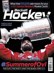 Beckett Hockey issue August 2018