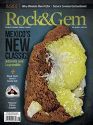 Rock & Gem Magazine issue August 2018