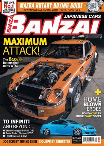 Banzai issue September 2018