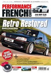 Performance French Cars issue Sep / Oct 18