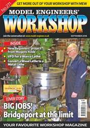 Model Engineers' Workshop Magazine issue Sep-18